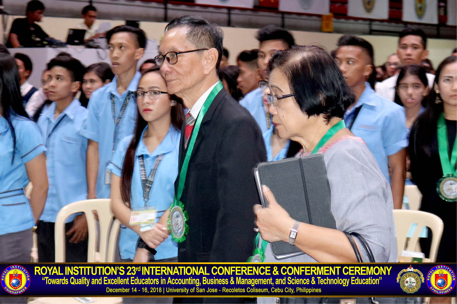 "9cb2d3037857 ... December 2018 for Royal Institution s (RI) 23rd International  Conference and Conferment Ceremony (23 ICCC) with the theme  ""Towards  Quality and ..."